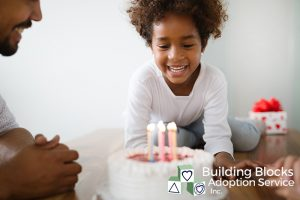Older Child Adoption -Kid with Birthday Cake