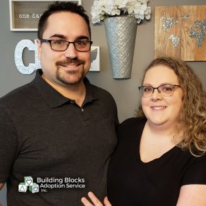 Andrew and Allison hope to adopt